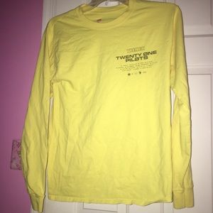Twenty One Pilots Long Sleeve Tee